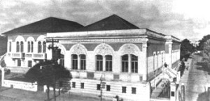 Fachada do edifício na década de 20